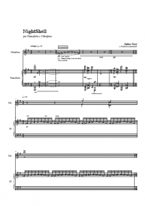 NightShell (piano score)