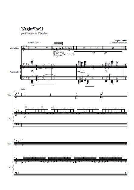 NightShell (piano score) (trascinato