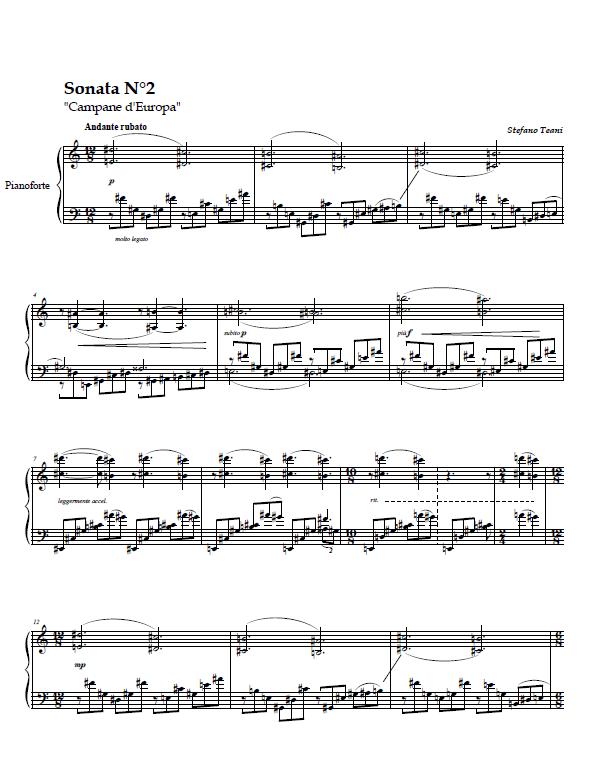 Sonata N2 (Pf.) (trascinato)